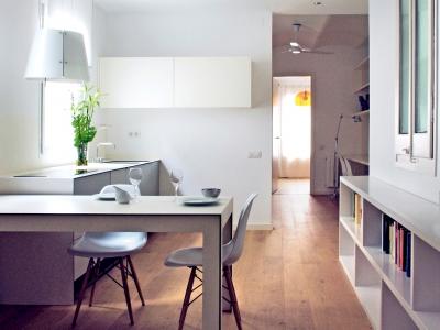Reforma d'habitatge a Gracia, Barcelona