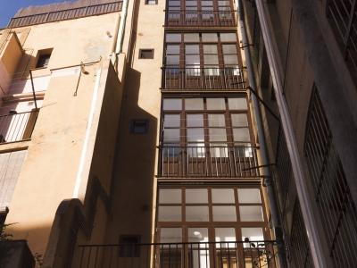 Rehabilitación fachada posterior en edificio Sant Pere més alt, Barcelona
